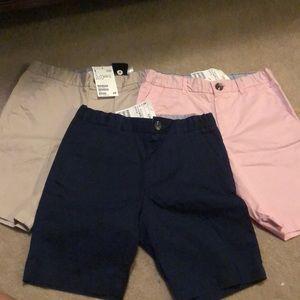 BNWT H& M boys chino shorts